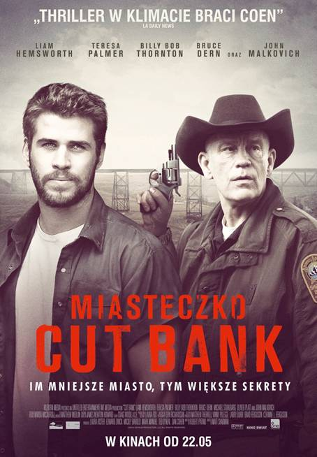 """""""Miasteczko Cut Bank"""" – intrygujący thriller w kinach od 22 maja!"""