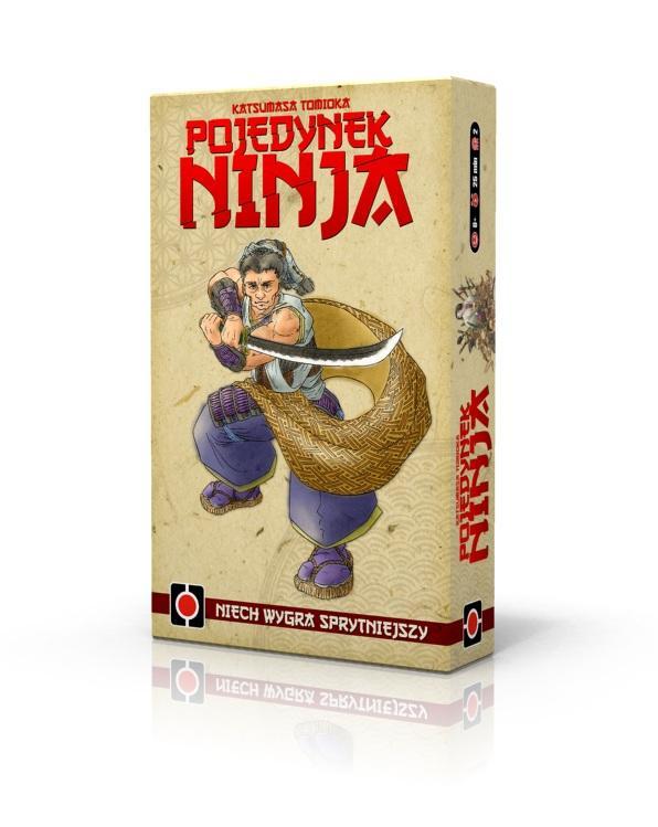 """Gra karciana """"Pojedynek Ninja"""" trafiła na krajowe półki sklepowe!"""