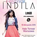 Indila już za miesiąc wystąpi w Warszawie na Love Festival