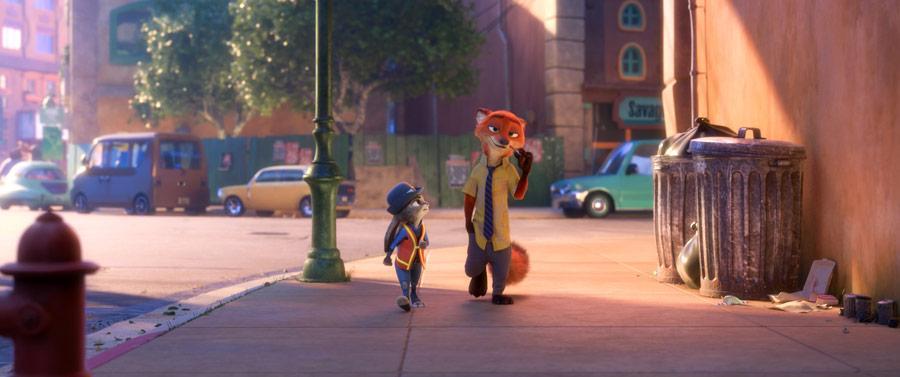Zwierzogród, Judy, Nick, ulica