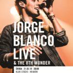Jorge Blanco zagra dwa koncerty w Polsce w 2018 roku