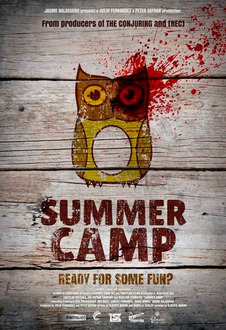 "Krwawy horror ""Summer Camp"" w kinach latem 2015!"