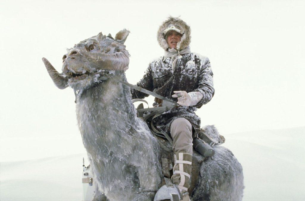 Powyżej: Han Solo namobilnym namiocie