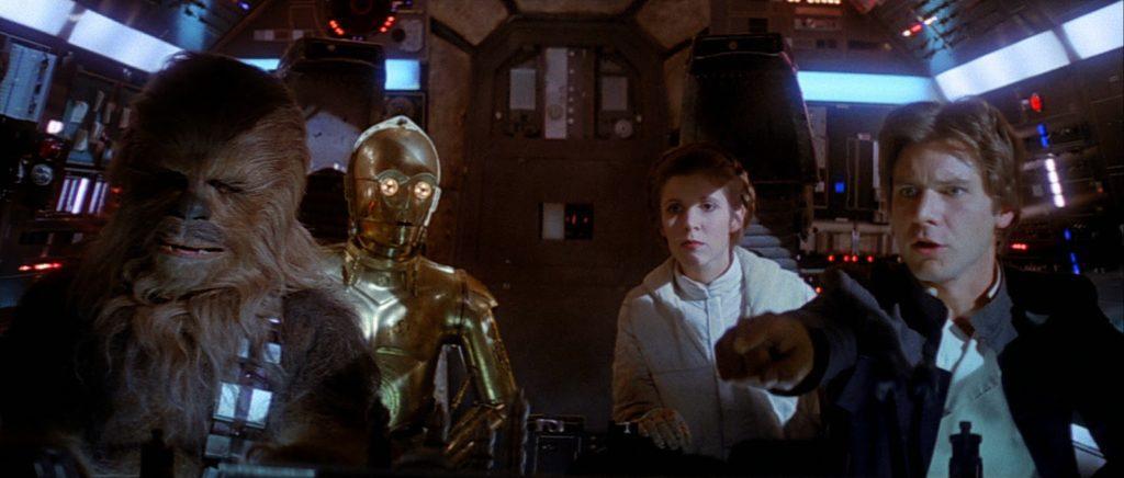 """""""Chewie, łap tego ziemniaka!"""""""