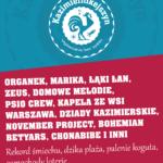 Trzecia edycja festiwalu Kazimiernikejszyn startuje 7 lipca