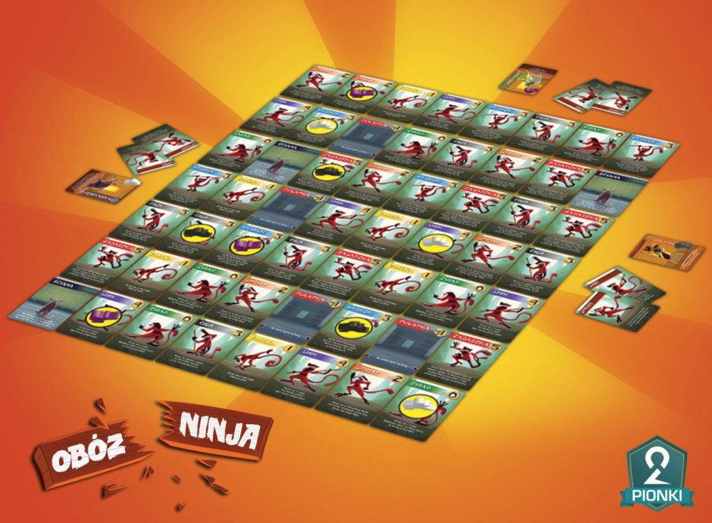 Obóz Ninja rozłożone