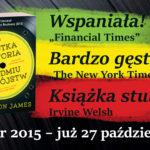 """Nagrodzona Bookerem """"Krótka historia siedmiu zabójstw"""" jesienią w Polsce!"""