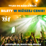 Rock For People – promocyjne ceny karnetów tylko do końca maja!