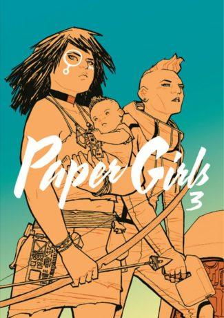 """Dzieciństwo się skończyło – Vaughan, Chiang, Wilson, Fletcher – """"Paper Girls 3"""" [recenzja]"""