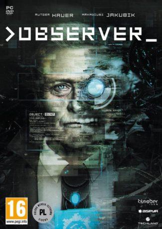 """Retrofuturystyczna groza – """"Observer"""" [recenzja]"""
