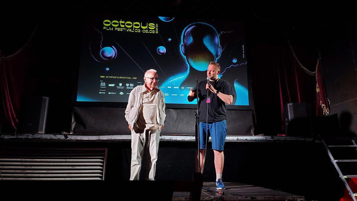 Marek Piestrak naOctopus Film Festival
