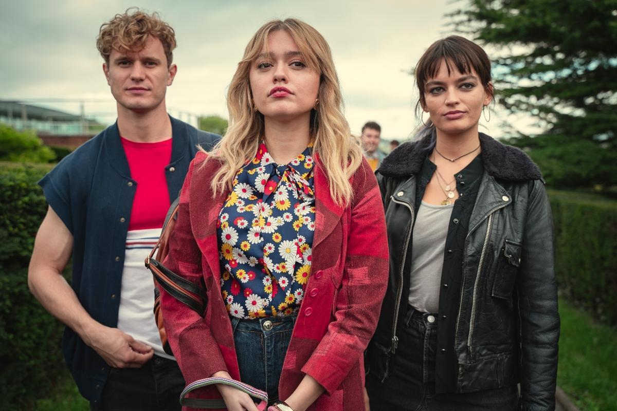 Education, Sezon trzeci, Netflix, Maeve, Aimee, Steve